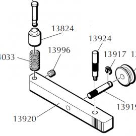 Dillon 550B Primer Slide Assembly – Specify 14281 or 14282